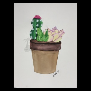 Cactus-Planting-Painting
